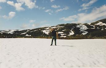 Photo: Summer snowballing
