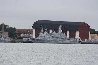 Photo: Minröjningsfartyg