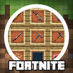 MOD MCPE Fortnite Battle Royale