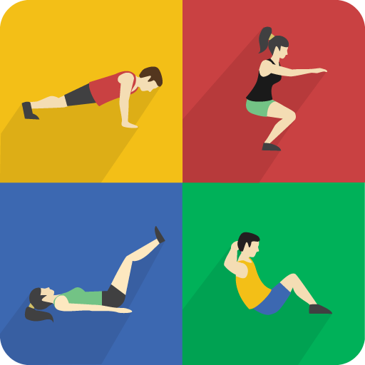 Home workouts - Abs, Butt, Chest, Lose Weight (app)