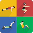 Workouts at home for woman & man apk