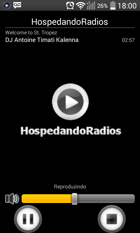 HospedandoRadios- screenshot