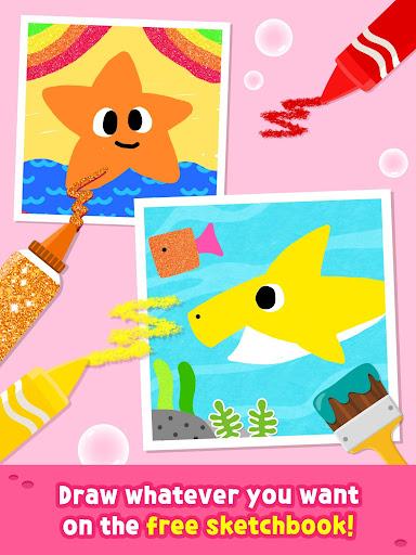 Pinkfong Baby Shark Coloring Book screenshot 14