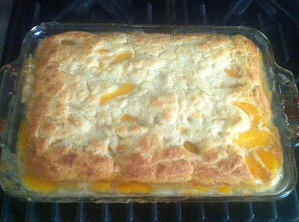 So Easy Peach Cobbler Recipe