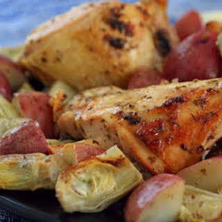 Roast Chicken Breasts Roasted Potatoes Recipes.
