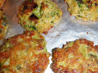 Baked Broccoli Patties Recipe