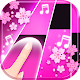 Flower Pink Piano Tiles - Girly Butterfly Songs Android apk