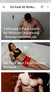 Six Pack Ab Workout For Men - náhled