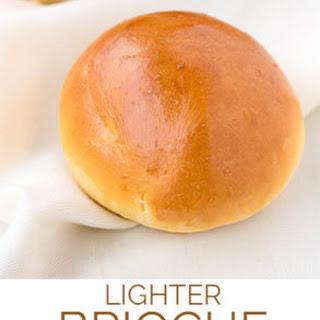 Quick & Light Brioche Style Buns Recipe