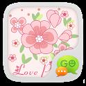 GO SMS Pro Love Petal Theme EX icon