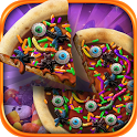 Halloween Candy Pizza Maker - Dessert Food Cooking icon