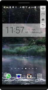 Peaceful River HD LWP screenshot 2