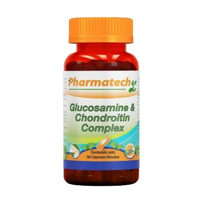 glucosamina-condroitin 60capsulas pharmatech