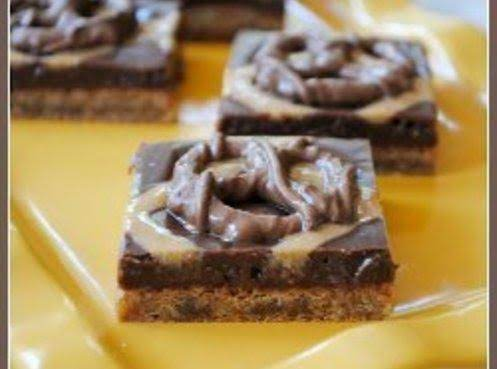 Chubby Hubby Cookie Bars Recipe