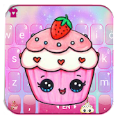 Kawaii Cute Cup Cake Keyboard Theme Android APK Download Free By 2018 Tech Cool Theme For Android