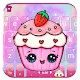 Kawaii Cute Cup Cake Keyboard Theme (app)