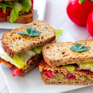 Vegan BLT (Better than Bacon, Lettuce and Tomato Sandwich)