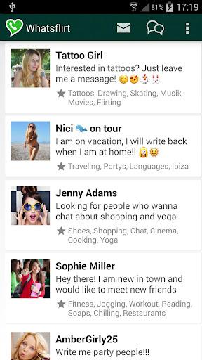 Flirts for WhatsApp
