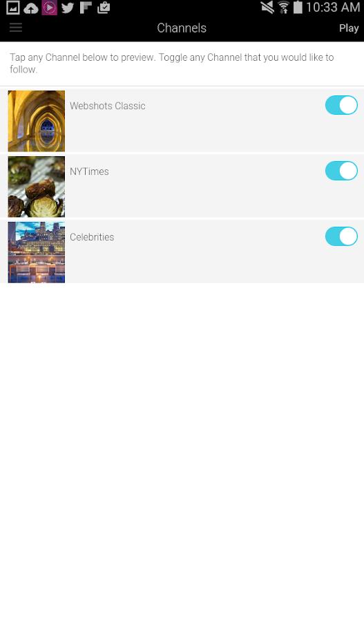 Webshots - screenshot