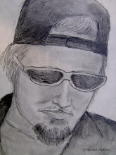 Photo: Scott Weiland 9 in x 12 in. Graphite on 90 lb. paper. Created back in 1994. ©Marisol McKee