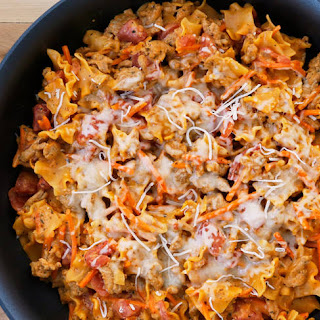 Turkey Lasagna Skillet.