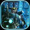 Neon Tech Robot Keyboard APK