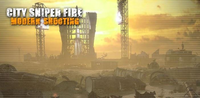 City Sniper Fire: Modern Shooting