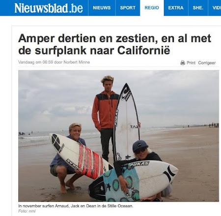 Nieuwsblad August 2015