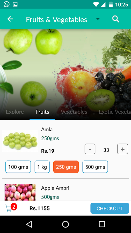 EZTrollley Online Grocery shop- screenshot
