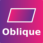 Oblique icon