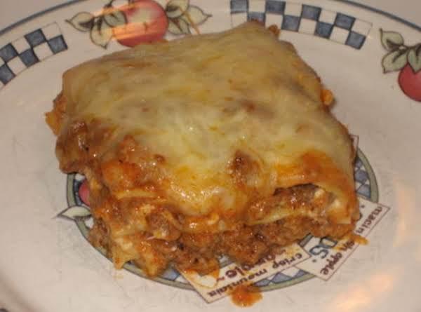Lasagna - No Boil Recipe