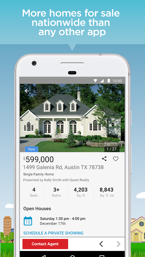 Realtor Com Real Estate Homes Screenshot