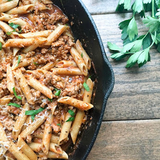 Easy Healthy Turkey Bolognese
