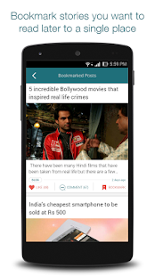 itimes:Bollywood, Food, Travel- screenshot thumbnail