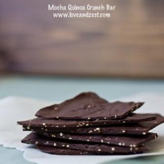 Mocha Quinoa Crunch Bar.