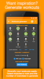 Workout Tracker & Gym Trainer- screenshot thumbnail