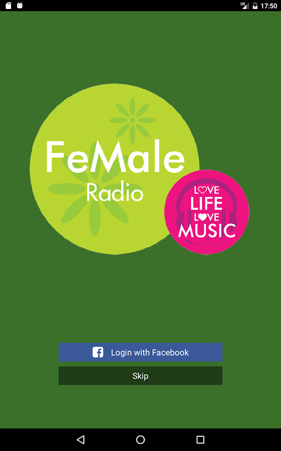 FeMale Radio- screenshot