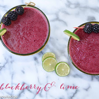 Fresh Blackberry Margaritas