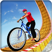 Impossible BMX Bicycle Racing