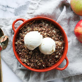Almond Flour Apple Crisp (GF!)