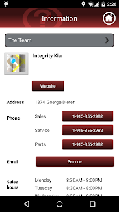 Integrity Kia screenshot