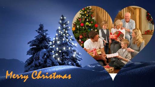 クリスマスフォトフレームのHD