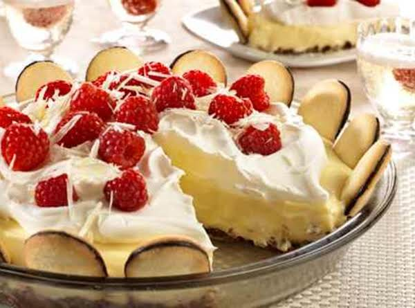 White Chocolate Silk Pie