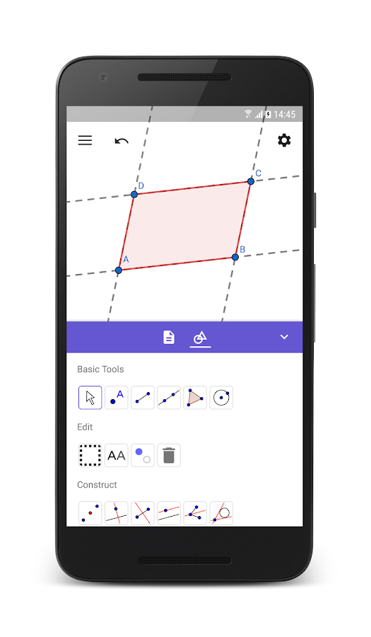 GeoGebra Geometry- screenshot