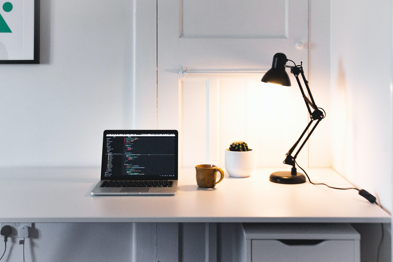 A variety of lighting options are available to make working from home just a little bit easier, from candles, designed for conсentration, to focus desk lamps with different modes. Credit: Rich Tervet / Unsplash