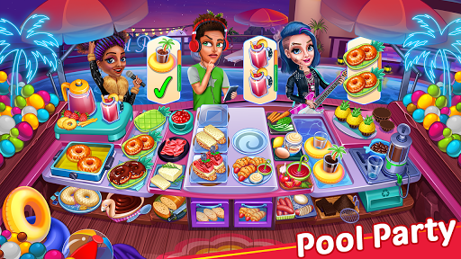 Cooking Party: Restaurant Craze Chef Fever Games apkpoly screenshots 5