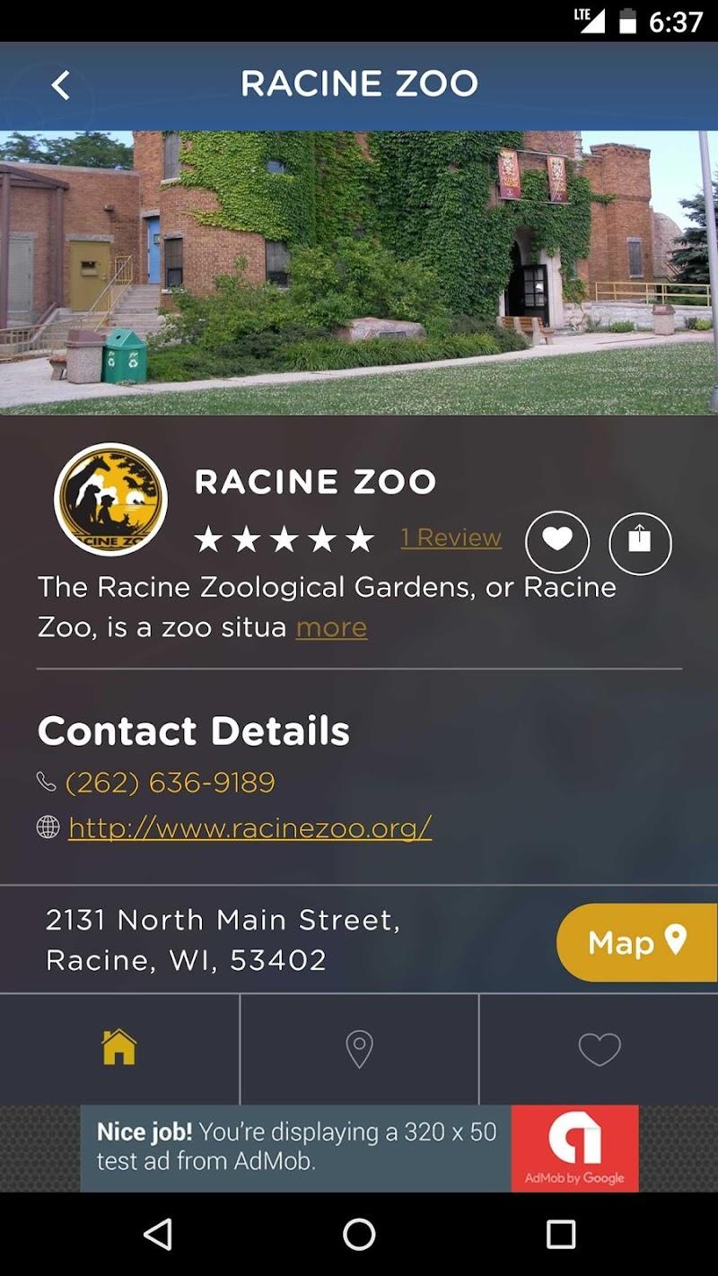 Скриншот Downtown Racine App