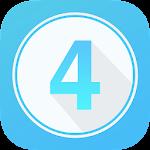 Four - Trivia Game Icon
