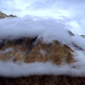 Mountain mustache! by Abhishek Majumdar - Landscapes Mountains & Hills ( madhur, sarbajit, vikram, prithvi, nitesh )