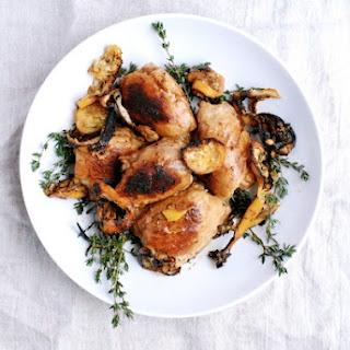 Meyer Lemon Skillet Chicken